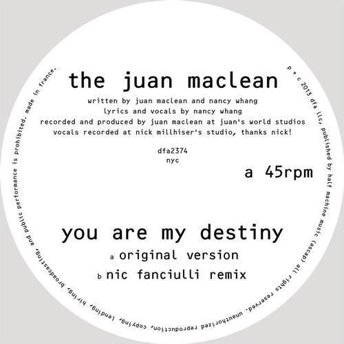 You Are My Destiny Album Art