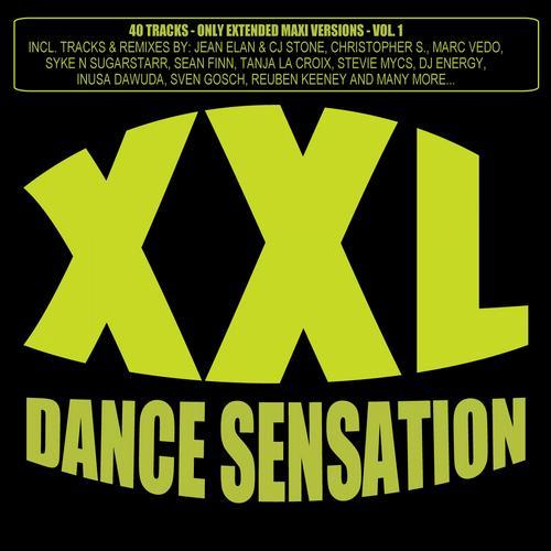 XXL Dance Sensation - 40 Tracks (Only Extended Maxi Versions) Album Art