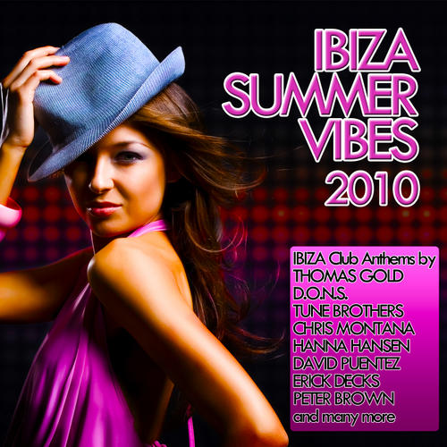 Album Art - Ibiza Summer Vibes 2010