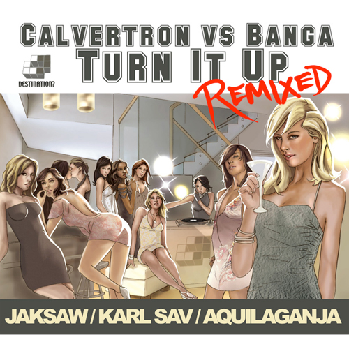 Album Art - Turn It Up Remixes