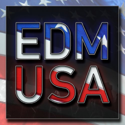 EDM USA Album Art