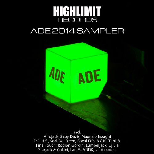 Album Art - Highlimit Records - ADE 2014 Sampler 4