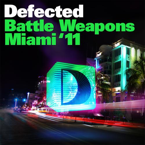 Defected Battle Weapons Miami '11 Album Art