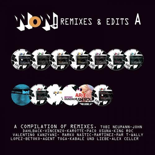 Album Art - Remixes & Edits (A)