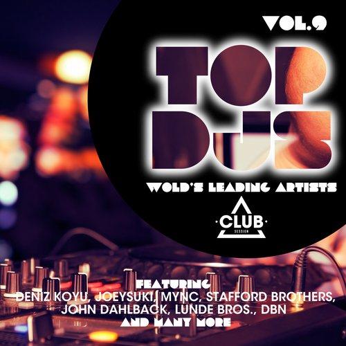 Top DJs - World's Leading Artists Vol. 9 Album Art