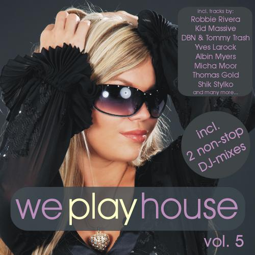 Album Art - We Play House Volume 5