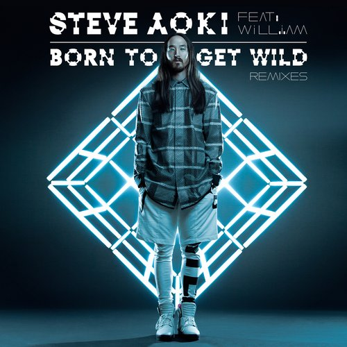 Album Art - Born To Get Wild - Remixes