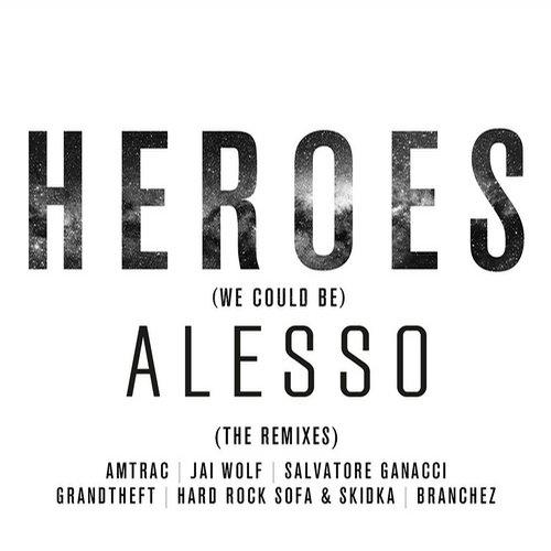 Album Art - Heroes (we could be)
