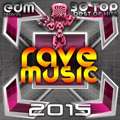 Album Art - Rave Music 2015 - 30 Top Hits Hard Acid Dubstep Rave Music, Electro Goa Hard Dance Psytrance