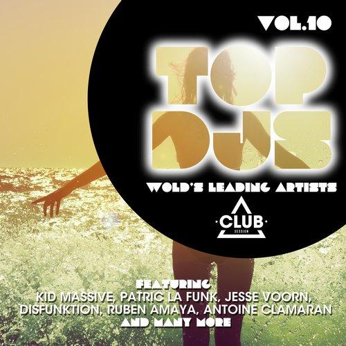 Album Art - Top DJs - World's Leading Artists Vol. 10