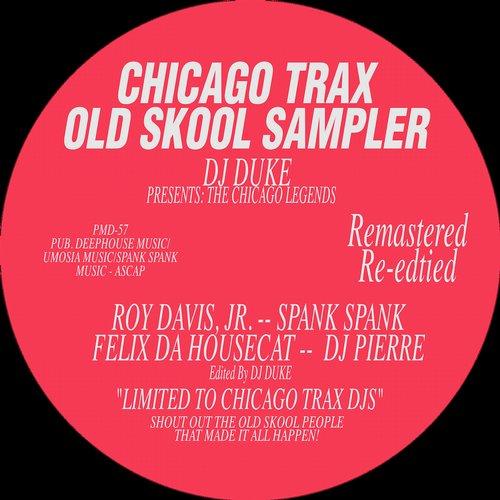 Chicago Trax Old Skool Sampler Vol. 1 Album