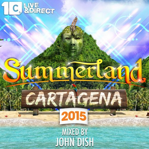 Album Art - Summerland 2015 - Mixed by John Dish