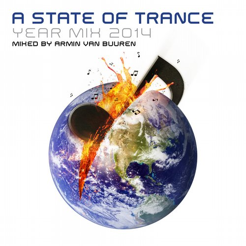 Album Art - A State of Trance Year Mix 2014 - Mixed by Armin van Buuren