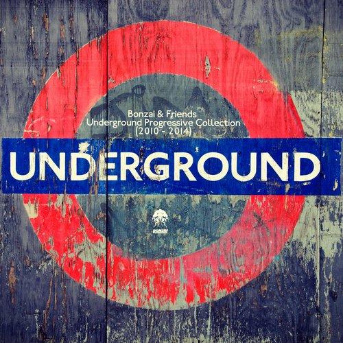 Album Art - Bonzai & Friends - Underground Progressive Collection 2010 - 2014