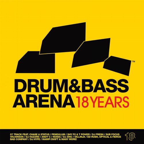 Album Art - Drum & Bass Arena 18 Years