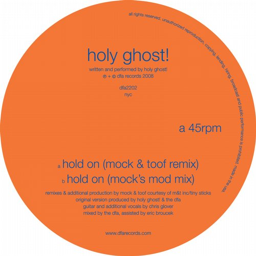 Album Art - Hold On (Mock & Toof Remixes)