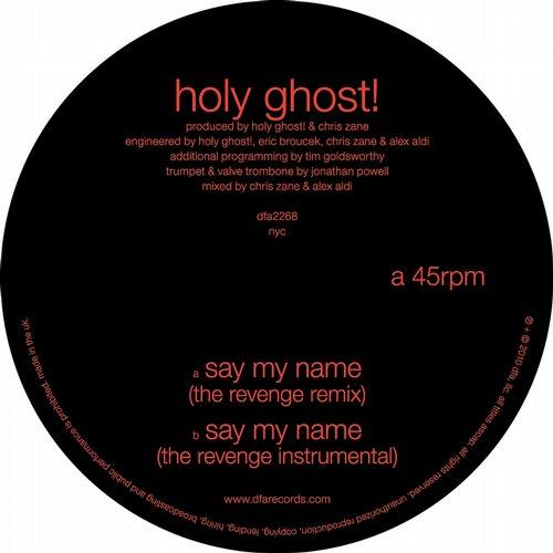 Say My Name (The Revenge Remixes) Album Art