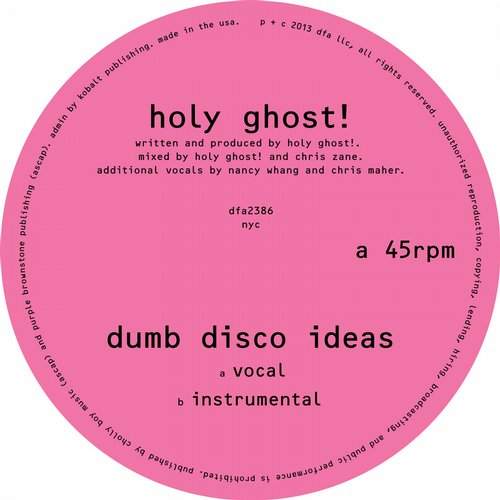Album Art - Dumb Disco Ideas