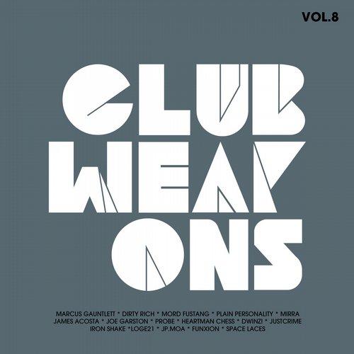 Album Art - Club Weapons Vol.8