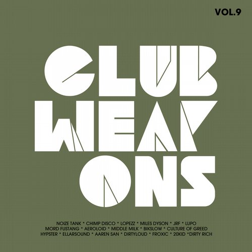 Album Art - Club Weapons Vol.9