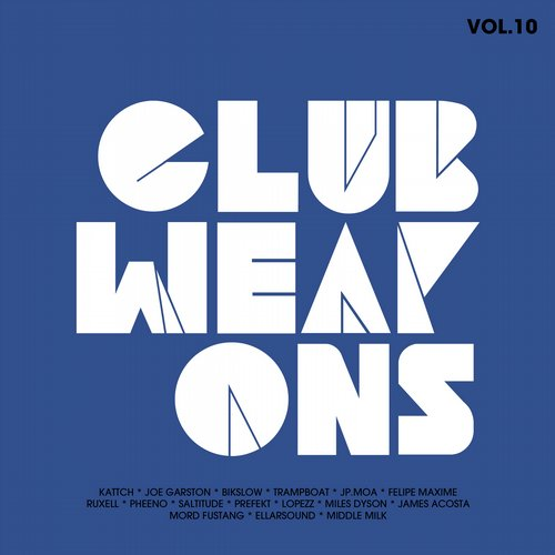 Album Art - Club Weapons Vol.10
