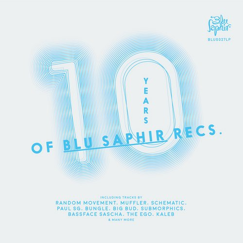 Album Art - 10 Years of Blu Saphir