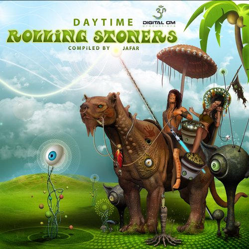 Album Art - Rolling Stoners - Daytime - compiled by Jafar