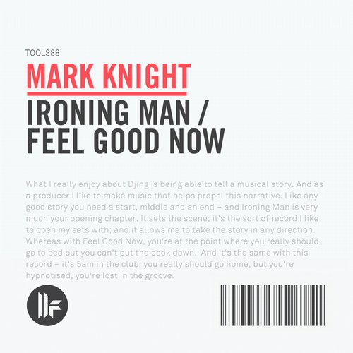 Album Art - Ironing Man / Feel Good Now