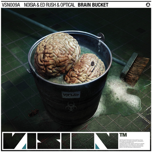 Brain Bucket / Falling Through Album Art