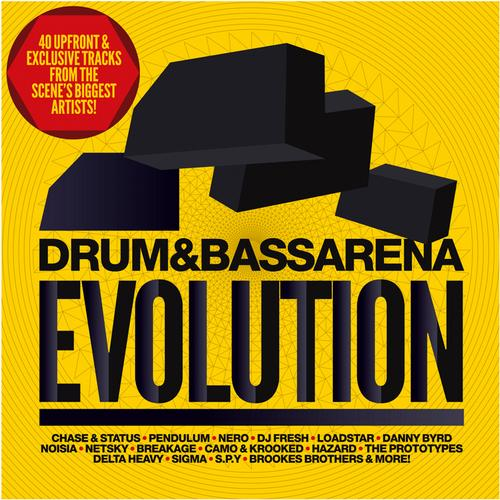 Album Art - Drum&BassArena Evolution