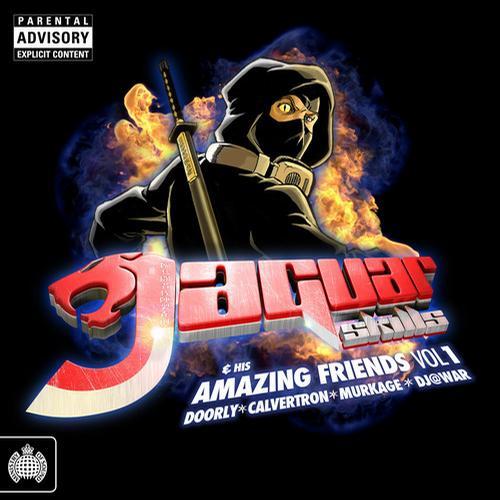 Jaguar Skills & His Amazing Friends Vol. 1 Album Art