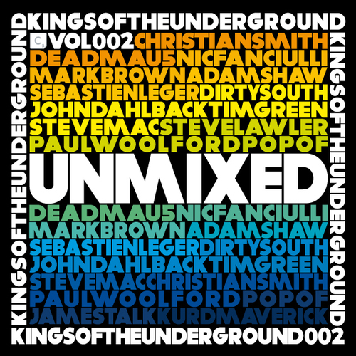 Album Art - Kings Of The Underground Vol. 2 Unmixed