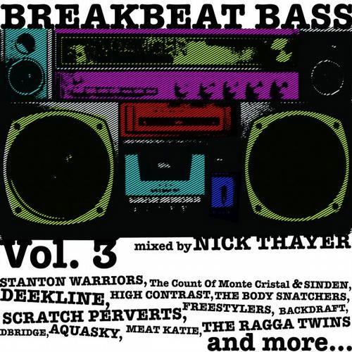 Album Art - Breakbeat Bass vol. 3 unmixed