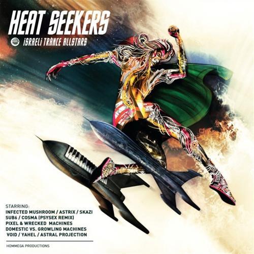 Album Art - Heat Seekers - Israeli Trance Allstars