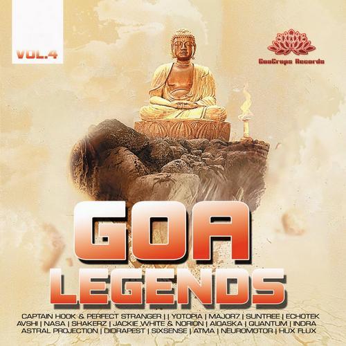 Goa Legends Vol. 4 Album Art
