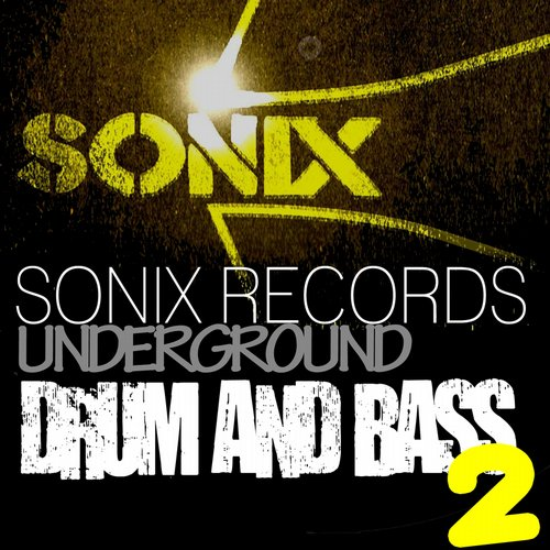 Sonix Records Present: Underground Drum and Bass, Vol. 2 Album Art