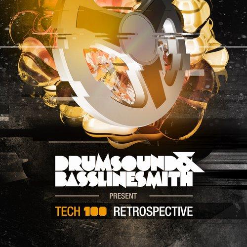Drumsound & Bassline Smith Presents Tech 100 Retrospective LP Album Art