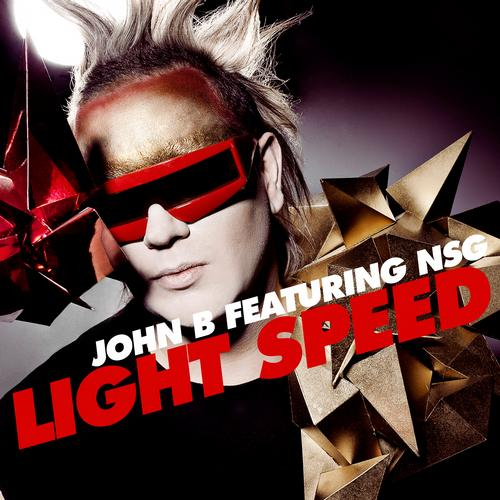 John B Ft. NSG - Light Speed Album Art