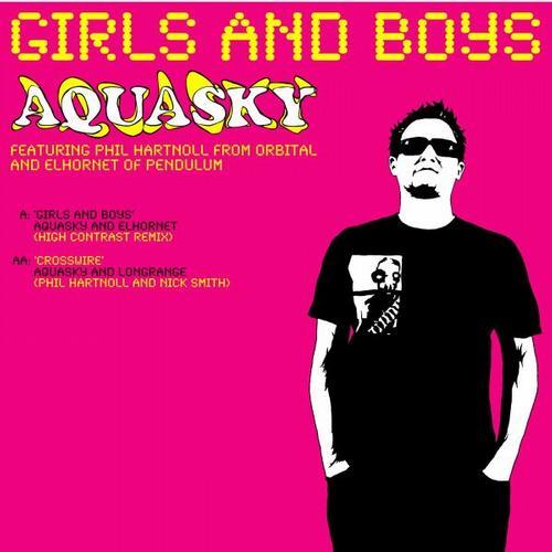 Album Art - Girls and Boys (High Contrast remix) / Crosswire
