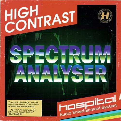 Album Art - Spectrum Analyser