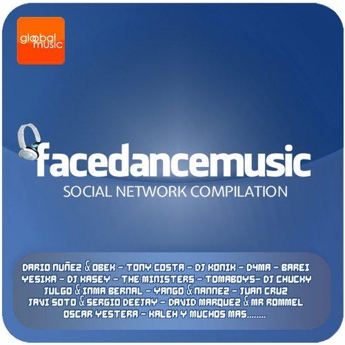 Album Art - Face Dance Music - Social Network Compilation