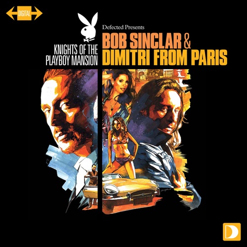 Album Art - Knights Of The Playboy Mansion: Mixed By Bob Sinclar & Dimitri From Paris