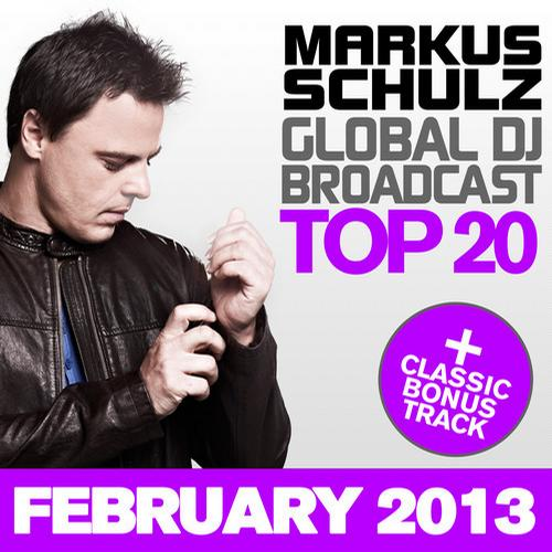 Album Art - Global DJ Broadcast Top 20 - February 2013 - Including Classic Bonus Track