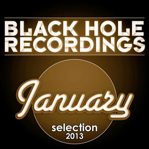 Album Art - Black Hole Recordings January 2013 Selection