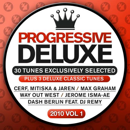 Album Art - Progressive Deluxe 2010 Volume 1 - 30 Tunes Exclusively Selected