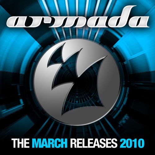 Album Art - Armada March Releases - 2010