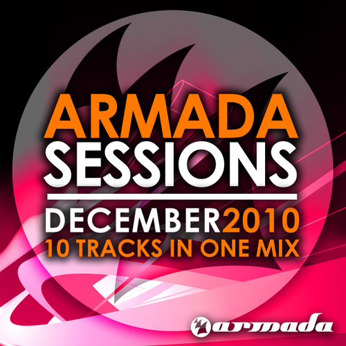 Album Art - Armada Sessions - December 2010 - 10 Tracks In The Mix