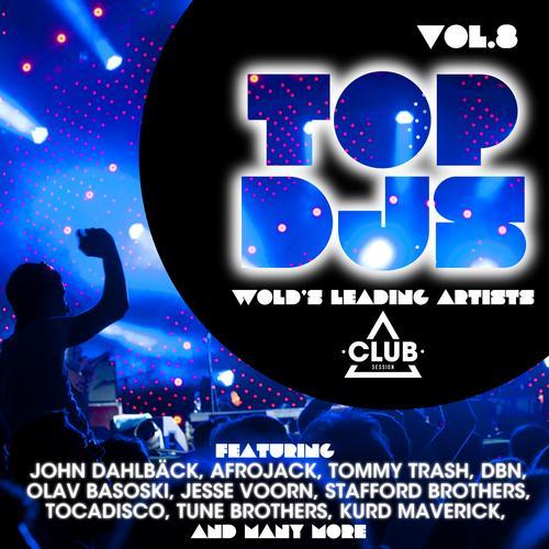 Album Art - Top DJs - World's Leading Artists Vol. 8