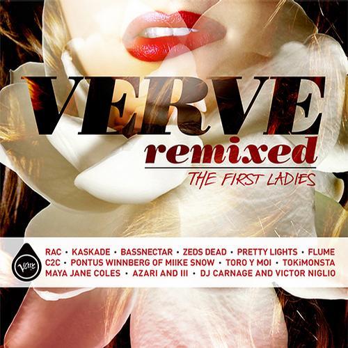 Verve Remixed: The First Ladies Album Art