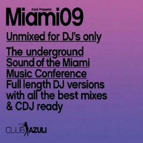 Album Art - Azuli Presents Miami 2009 : Unmixed